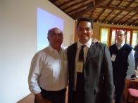 Com o Professor Benedito Milioni, autor de grandes obras sobre RH