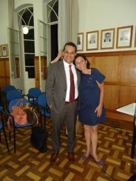 Com a Consultora e Professora Regina Damazo