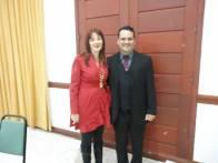Com Marcia Luz