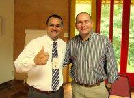 Com Américo Garbuio, Diretor de DHO do Grupo Schincariol