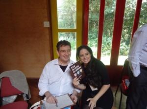 Prof. Cláudio Queiroz e Regiane Pinheiro (A Executiva)