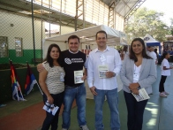 Ronilce, Rodrigo Parras, Andre Mancuso e Isabel Cardozo