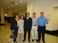 Equipe Atibaia Residence Hotel - Tatiane, Martha, André, Davi e Everton
