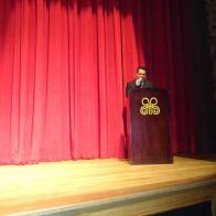O Editor do blog Andre Mancuso fazendo a abertura