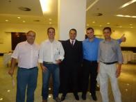 Equipe do Atibaia Residence Hotel compareceu! Junior, Marcos, André, Everton e Davi
