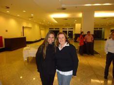 Luciana e Glaucia da CBE