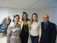 Tatiana e Coordenadores AGRUPARH