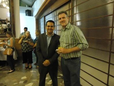 André com Eurico da Anhanguera - LFG Atibaia e Bragança