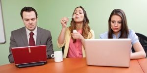 comportamento no trabalho