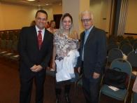 Conselheiros do AGRUPARH André-Haidê e Luis