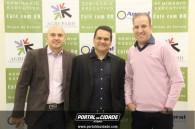Andre com Dr. Marcos e Daniel da MTPLUS