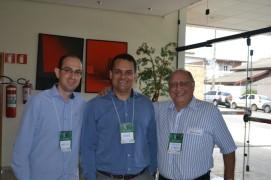 Marcelo (Humanitarian) Andre (AGRUPARH) e Kraide (IBL)