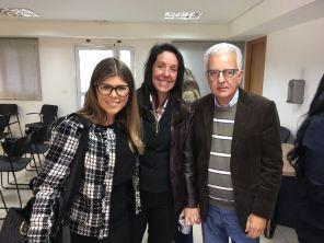 Dra. Anna, Luciene e Luis Marcondes