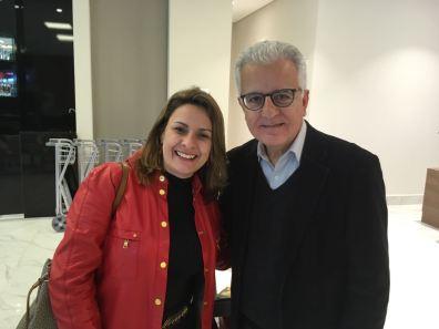 Vera com Luis Marcondes do BBP