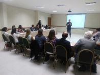 Marcos Soares da Embrapa falando pelo Grupo de estudos