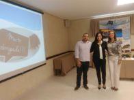 Bruno Kraide, Débora Ramos e Luciane Ferreira do Grupo de Estudos