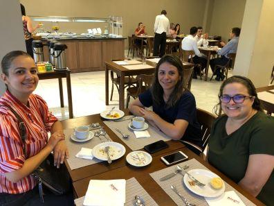 Luciane da Grammer, Renata da Aqualimp e Sara do Bragança Garden Shopping