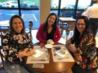 Vera Gimenez, Gabriela Leite e Angela Terra