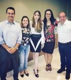 André Mancuso, Vera Gimenez, Regiane Pinheiro, Angela Terra e Adriano Carvalho