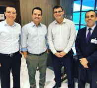 Com Anderson Santos, Nilo Nery e Adriano Oliveira