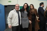 Adriano com Angela e Regiane