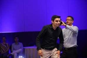 Glaucio Nascimento ganhou uma bolsa de pós graduação pela UNIFAAT