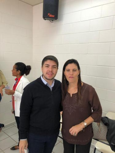 Time de rh da Huf - Renan e Ana Paula
