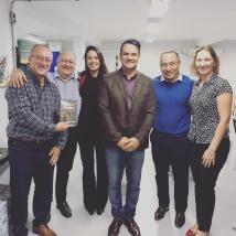 Mario Simoes, Marcos Kraide, Gabriela Leite, André Mancuso, André Bio e Andrea Rigueto